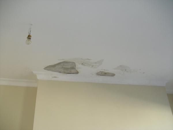 Reparação e Pintura de uma Sala